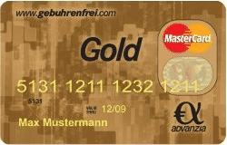 Advanzia Gebührenfrei Gold