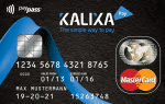 Kalixa Prepaid Karte
