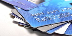 Viele Kreditkarten